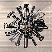 Autogarage Werkzeuge Rekord Geschenk Shop Vinyl