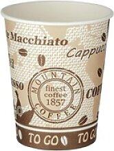 Automatenbecher Kaffeebecher 80mm Ø  'Coffee