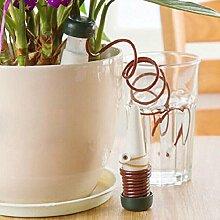 Automatische Tropfbewässerung Blume Werkzeug ❤️ sunnymi Zimmerpflanzen Bewässerungssystem Blumentopf Waterer Tool (Weiss, 11cm*3cm)