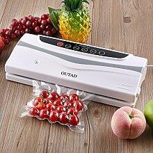 Automatisches Vakuumiergerät Folienschweißgerät / Küchengerät, Lebensmittel bleiben frisch - natürliche Aufbewahrung Fisch, Fleisch, Gemüse, Obst - Peepheaven