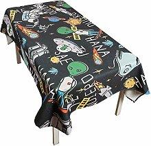 AUTOP Kreative Tischdecke außerirdisch Runde