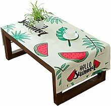 AUTOP Obst Tischdecke Wassermelone Rechteckig