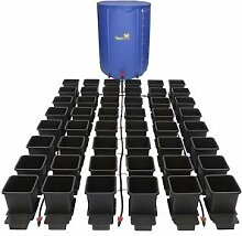 Autopot komplett Hydroponics Bewässerungssystem Pflanze Blume Flexitank & Kit, 8 Töpfe, mit wasserdichter Flexitank