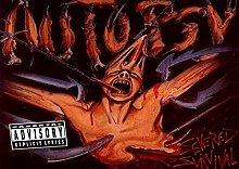 Autopsie Great 9 Rock Metal-Album Cover, Musik-Band-Motiv mit Bilderrahmen, für A4