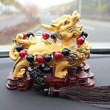 Autoschaukel Sitzt Zu Cai Caibao Ping Ein Buddha