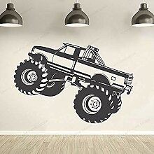 Autowand Vinyl Aufkleber Monster Truck Wandtattoo