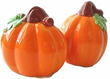 Autumn Pumpkins Decorative Salt & Pepper Shaker