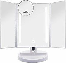 Auxmir Kosmetikspiegel mit LED Licht und