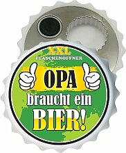 AV Andrea Verlag Großer XXL Flaschenöffner