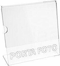 Avà srl Fotoständer aus Plexiglass, transparen