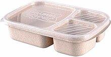 Avalita Lunchbox Container Tragbare 3 Fächer