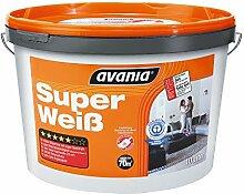 Avania Super weiß Wandfarbe 11 Liter weiß