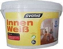 Avania Wandfarbe Innen Weiß Matt 5 Liter