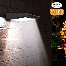 Avaspot Solarleuchten für Außen, 30 LED