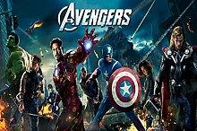Avengers Torten Druck Bild auf A4 Fondant Papier