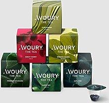 AVOURY Tee-Kapseln Discovery Set: 6 Teesorten zum