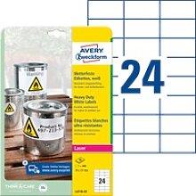 AVZ L4718-20 - Folien-Etiketten, wasserfest, 70 x