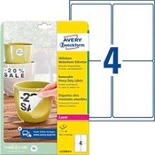AVZ L4774REV-8 - Folien-Etiketten, wasserfest,
