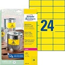 AVZ L6131-20 - Folien-Etiketten, wasserfest, 70 x