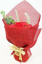 AW Blumenstrauß Blumen Bad Seife-Geschenk
