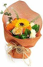 AW Blumenstrauß Blumen Seife Blütenduft Geschenk
