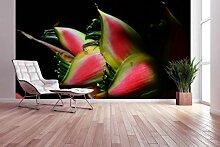 awallo Fototapete – Motiv «Exotische Blume» in