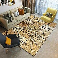 AWDDT Teppich Wohnzimmer Abstrakte Retro- Artserie