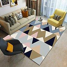 AWDDT Teppich Wohnzimmer Abstrakte virtuelle