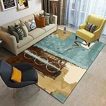 AWDDT Teppich Wohnzimmer Stilvoller natürlicher