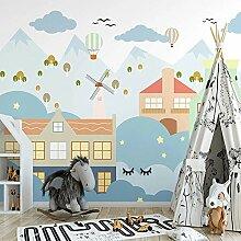 Awttmua Fototapete Für Kinderzimmer Nordischen
