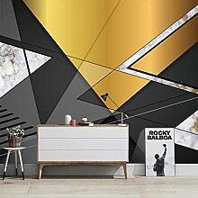 Awttmua Fototapete Für Wände 3D Modern Black