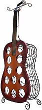 AWYJ Flasche Weinregal 12 Flaschen Gitarre