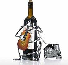 AWYJ Flasche Weinregal Weinregal Mit Gitarre Eisen