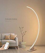 AXCSA LED Bogenlampe Acryl Wohnzimmer Stehlampe