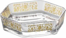Axentia 282016 Seifenschale Vanja mit Golddruck