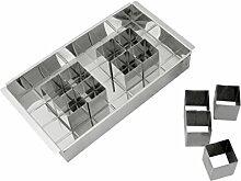 axentia Backform-Set, verstellbar, rechteckig