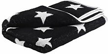 axentia Handtuch mit Sternen, Badetuch aus 100 %