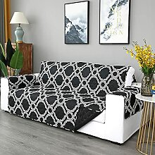 AXHMZYD Schwarz Sofa überwurf Sofabezüge