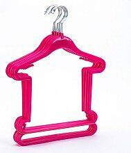 Axi Kleiderbügel Für Kinder, Kleiderbügel Aus Kunststoff, Kleiderbügel, Kleiderbügel, Bekleidungsgeschäfte, Haushaltsanzüge, Kleiderbügel, Kleiderbügel, Kleiderbügel, 10 Kleider., Gule, 25 * 29 * 38,5 Cm