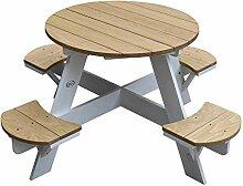 AXI UFO Picknicktisch Rund für Kinder aus Holz  