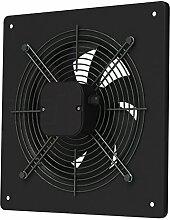 Axial Ventilator Ø 200 mm schwarz Abluft Zuluft Rohrlüfter Radial Rohr Lüfter Absauglüfter Industrielüfter Absaugung
