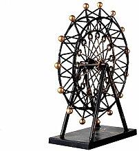 Axiba Antik Eisen Riesenrad Handwerk Ornamente