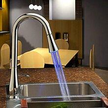 axiba Moderne Pull Down Küchenarmatur mit