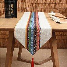 Axiba Tischläufer Langen Tischdecke