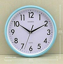 Axiba Wand-Uhr Zoll Quarzuhr kreisförmigen Wall
