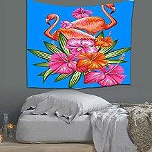 Axiba Wandteppiche, Flamingo Schlafzimmer