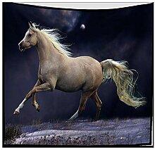 Axiba Wandteppiche,Pentium Pferd Figur Plüsch