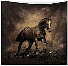 Axiba Wandteppiche, Pentium Pferd Figur Plüsch