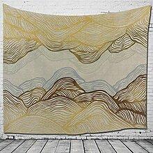 Axiba Wandteppiche, Weltkarte Tapete Drucken