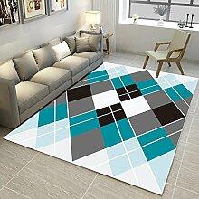 Axiba Wohnzimmer geometrische Muster Baby Matte